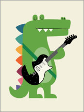 Gallery Print  Croco Rock - Andy Westface