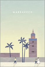 Wandsticker  Marrakesch Illustration - Katinka Reinke