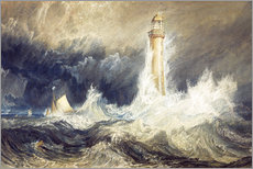 Gallery Print  Bell Rock Leuchtturm - Joseph Mallord William Turner
