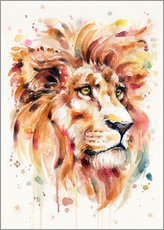 Wandsticker  All Things Majestic (Lion) - Sillier Than Sally