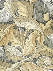 Wandsticker  Akanthus - William Morris