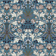 Wandsticker  Hyazinthe - William Morris