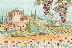 Gallery Print  Tuscan Breeze I - Daphne Brissonnet