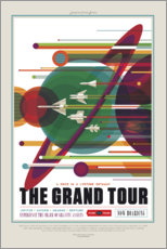 Gallery Print  Retro Space Travel - The Grand Tour
