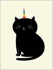 Gallery Print  Caticorn - Andy Westface