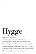 Gallery Print  Hygge Definition - Pulse of Art