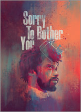 Premium-Poster  Sorry To Bother You - Fourteenlab