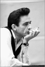 Premium-Poster  Johnny Cash - Celebrity Collection