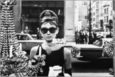 Holzbild  Breakfast at Tiffany's - Celebrity Collection
