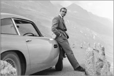 Holzbild  Sean Connery alias 007 - Celebrity Collection