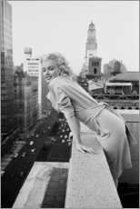 Premium-Poster  Marilyn Monroe in New York - Celebrity Collection