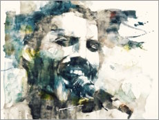 Leinwandbild  Freddie Mercury - The Show Must Go On - Paul Lovering Arts