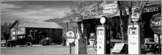 Gallery Print  Tankstelle on der Route 66, Hackenberry, USA