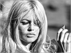 Acrylglasbild  Brigitte Bardot - vom Winde verweht - Celebrity Collection