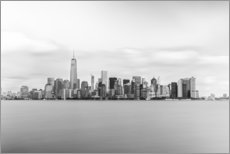 Alubild  Skyline von Manhattan - nitrogenic