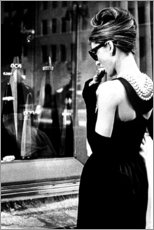 Premium-Poster  Croissant-Szene ? Breakfast at Tiffany's - Celebrity Collection