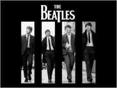 Premium-Poster  The Beatles - Entertainment Collection