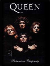 Hartschaumbild  Queen - Bohemian Rhapsody - Entertainment Collection