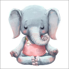 Wandsticker  Eine kleine Meditation - Kidz Collection