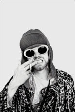 Holzbild  Kurt Cobain - Celebrity Collection