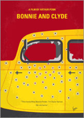 Premium-Poster Bonnie and Clyde