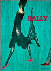 Acrylglasbild  Bally - Paris - Advertising Collection