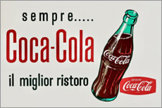 Premium-Poster  Coca Cola Werbung - Advertising Collection