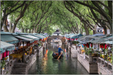 Gallery Print  Wasserdorf Tongli, China - Jan Christopher Becke
