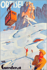 Gallery Print  Ortisei - Val Gardena - Travel Collection