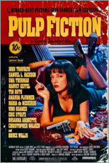 Wandsticker  Pulp Fiction (Englisch) - Entertainment Collection