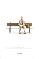 Leinwandbild  Forrest Gump (englisch) - Entertainment Collection