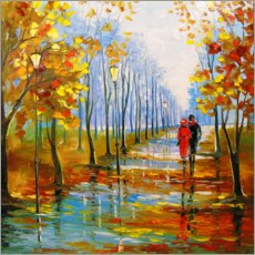 Gallery Print  Herbstspaziergang - Olha Darchuk
