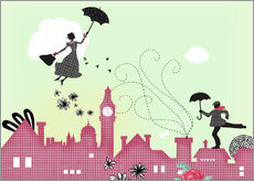 Gallery Print  Mary Poppins London - Elisandra Sevenstar