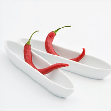 Wandsticker  chilies in love - Jenny Stadthaus