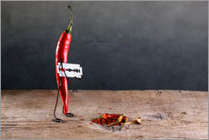 Gallery Print  Simple Things ? Scharfe Chilischote - Nailia Schwarz