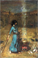 Gallery Print  Der magische Zirkel - John William Waterhouse