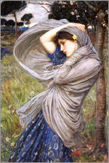 Wandaufkleber  Boreas - John William Waterhouse