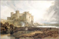 Wandsticker  Conway Castle - Joseph Mallord William Turner