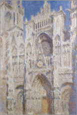 Gallery Print  Kathedrale am Nachmittag - Claude Monet