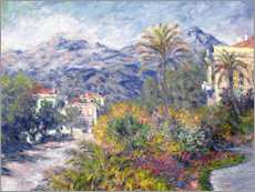 Acrylglasbild  Villas at Bordighera - Claude Monet
