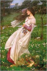 Gallery Print  Windblumen - John William Waterhouse