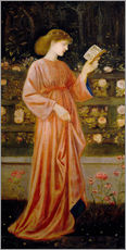 Wandsticker  Prinzessin Sabra - Edward Burne-Jones