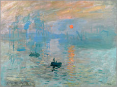 Gallery Print  Impression, Sonnenaufgang - Claude Monet