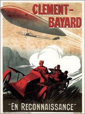 Gallery Print  Clement Bayard Automobile - Advertising Collection