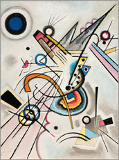 Gallery Print  Diagonale - Wassily Kandinsky