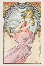 Wandsticker  The Arts - Painting - Alfons Mucha