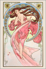Gallery Print  The Arts - Dance - Alfons Mucha