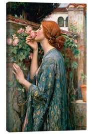 Leinwandbild  Die Seele der Rose - John William Waterhouse