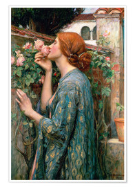 Premium-Poster  Die Seele der Rose - John William Waterhouse