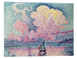 Hartschaumbild  Antibes - Paul Signac